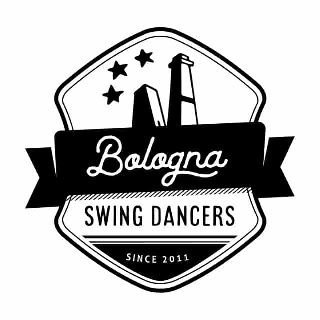 Logo di Bologna Swing Dancers. Lindy Hop Bologna. Bologna Swing Dancers. Corsi Swing Bologna. Swing Fever