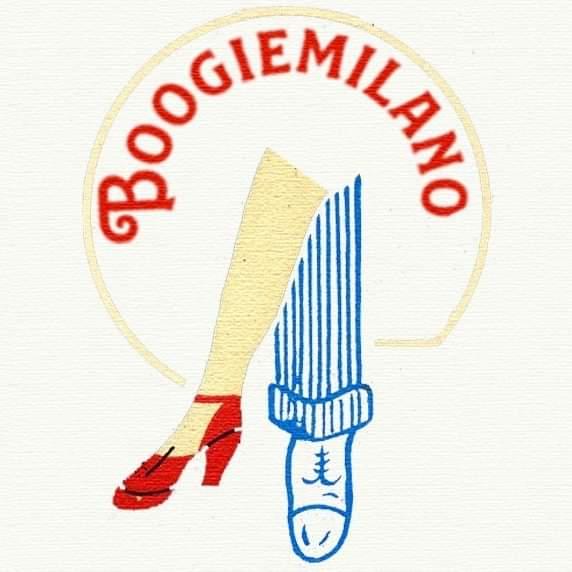 Logo di Boogie Milano. Corsi Swing Milano. Boogie Milano. Lindy Hop Milano - Swing Fever
