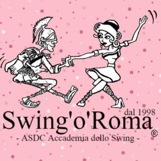 Logo della scuola di ballo Swing'o'Roma