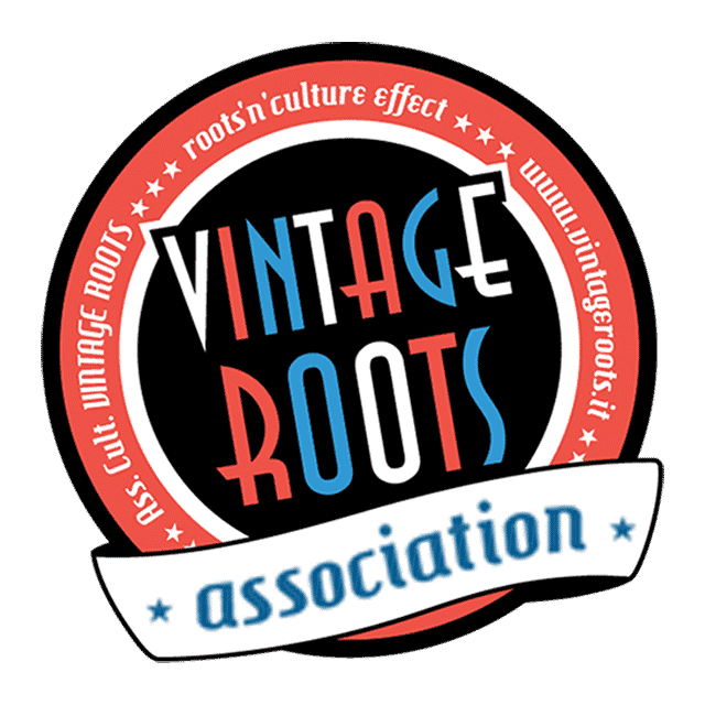 Logo di Vintage Roots Dance School. 50's e Rockabilly Jive Milano: Vintage Roots Dance School. Corsi Swing Milano - Swing Fever