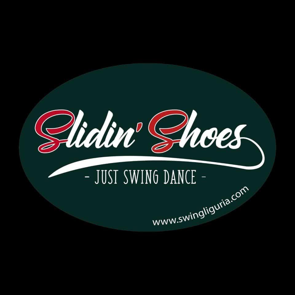 Logo di Slidin' Shoes Swing dancers. Scuole Swing Genova Slidin'Shoes Swing dancers - Swing Fever