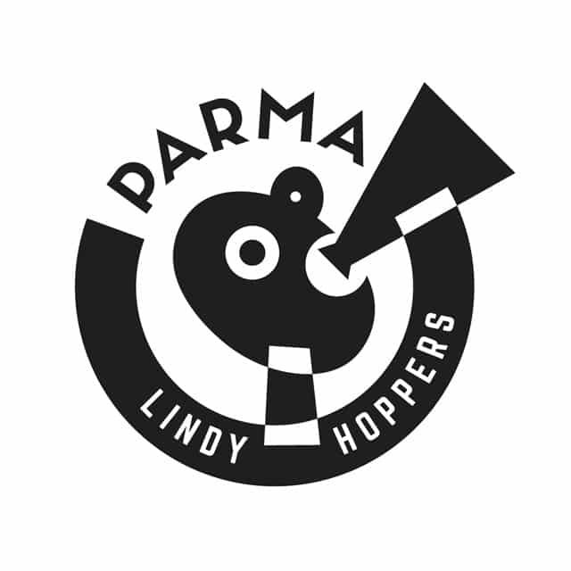 Logo di Parma Lindy Hoppers. Lindy Hop Parma. Parma Lindy Hoppers. Corsi Swing Parma. Swing Fever