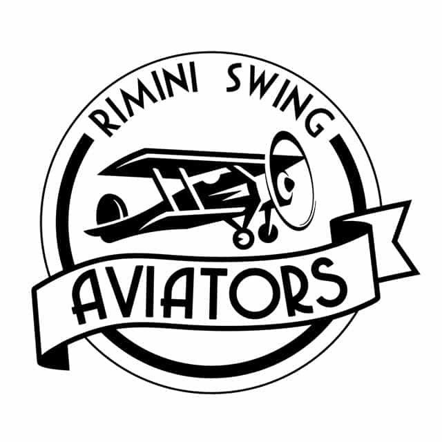 Logo di Rimini Swing Aviators. Lindy Hop Rimini. Rimini Swing Aviators. Scuole di ballo Swing Rimini. Swing Fever