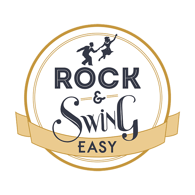 Logo di Rock & Swing Easy. Corsi Swing Lucca Viareggio. Rock & Swing Easy. Swing Viareggio. Swing Fever