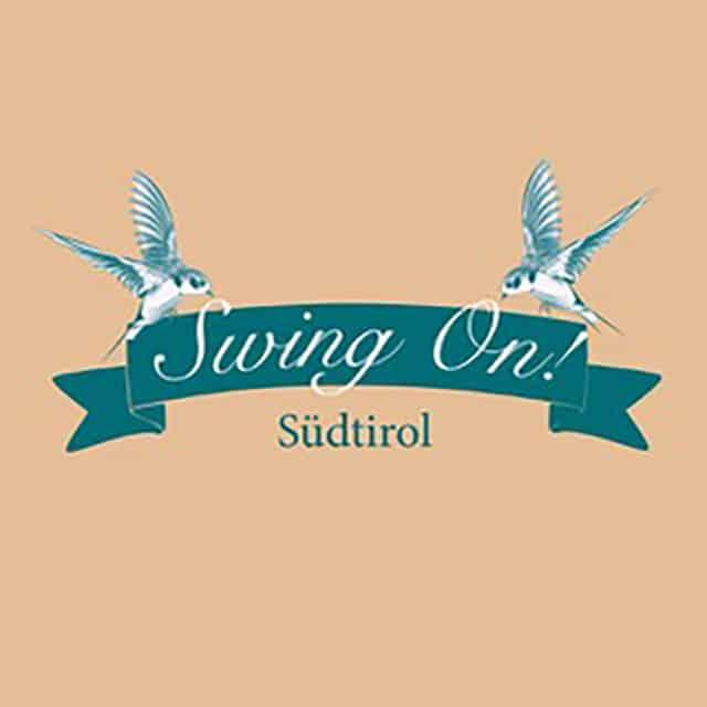Logo di Swing On. Corsi Swing Merano. Swing On! Südtirol. Scuola Swing Bolzano Merano. Swing Fever