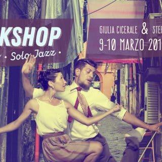 Lindy Hop e Solo Jazz in Naples con Stefano & Giulia!