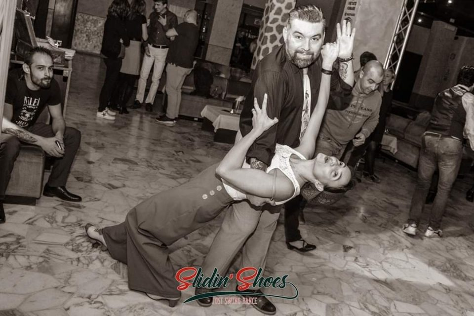 Foto di Erika Baruzzi e Davide Serini - Slidin' Shoes Swing Dancers - Swing Fever