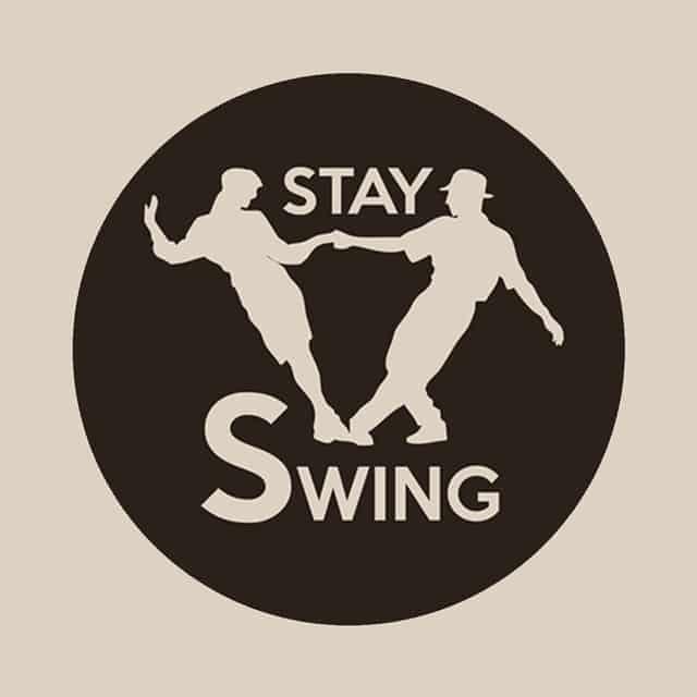 Logo di Stay Swing. Corsi swing Pavia. Stay Swing. Scuola di ballo Swing a Pavia. Swing Fever