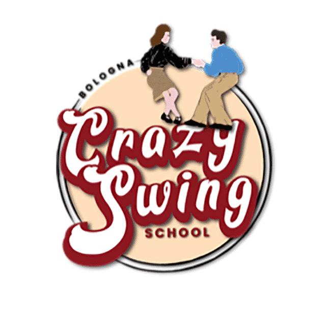 Logo di Crazy Swing School. Boogie Woogie Bologna. Crazy Swing School. Swing Bologna - Swing Fever