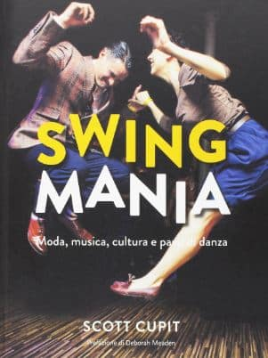 Copertina del libro Swing Mania - Scott Cupit - Swing Fever